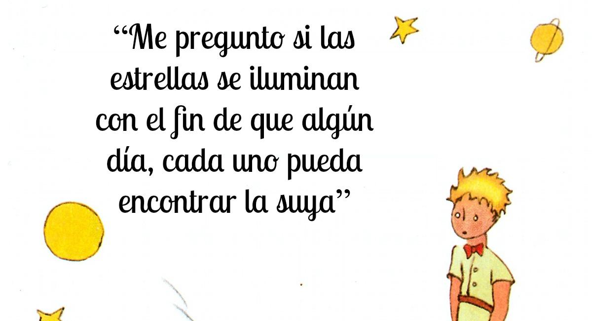 10 Frases Memorables De El Principito Revista Caras