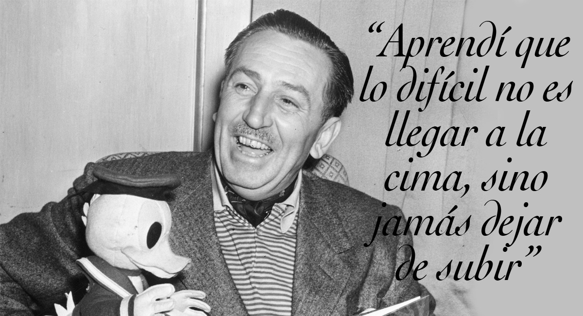 10 Frases Memorables De Walt Disney Revista Caras