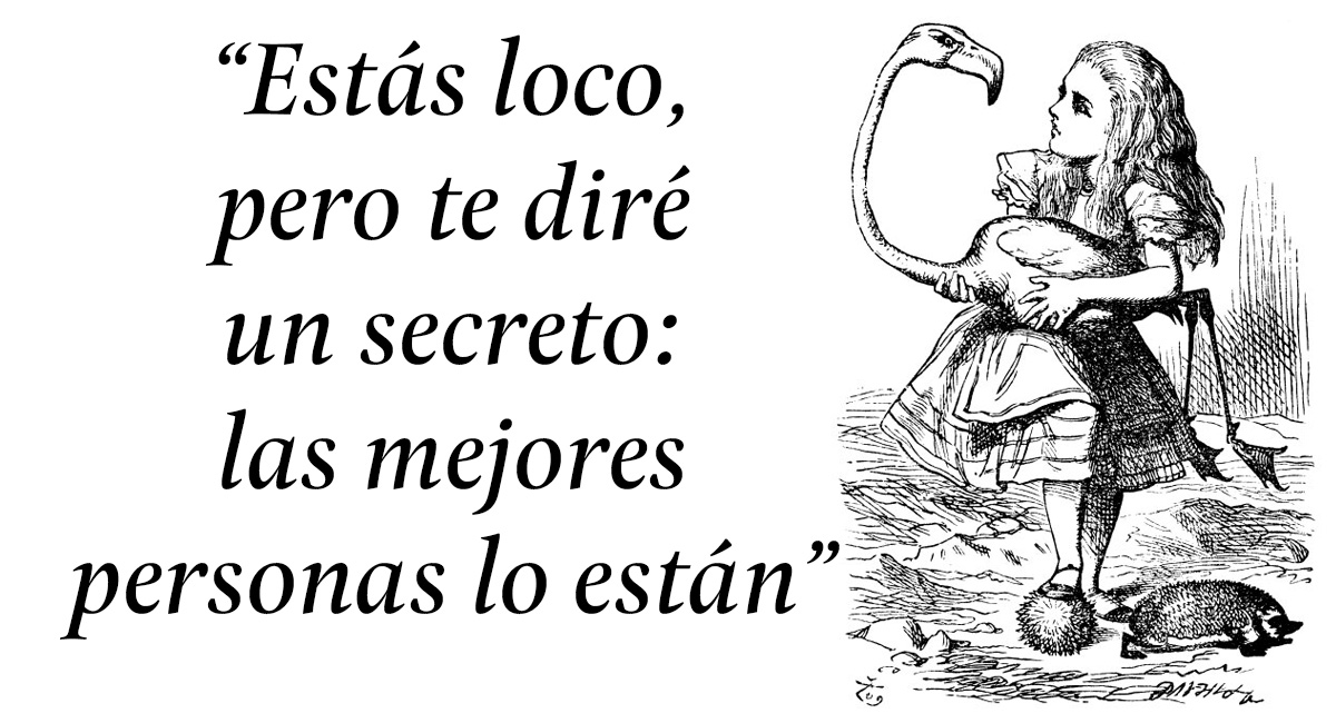 10 Frases Representativas De Alicia En El País De Las