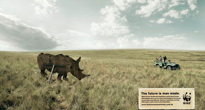 Publicidad contra el maltrato animal