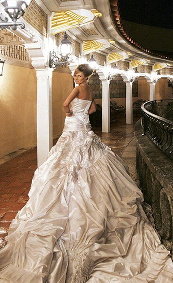 el vestido de novia de melania trump que costó más que el de kate