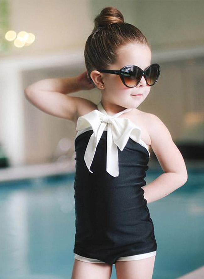 Coquetos trajes de baño para tu nena - Padres e Hijos