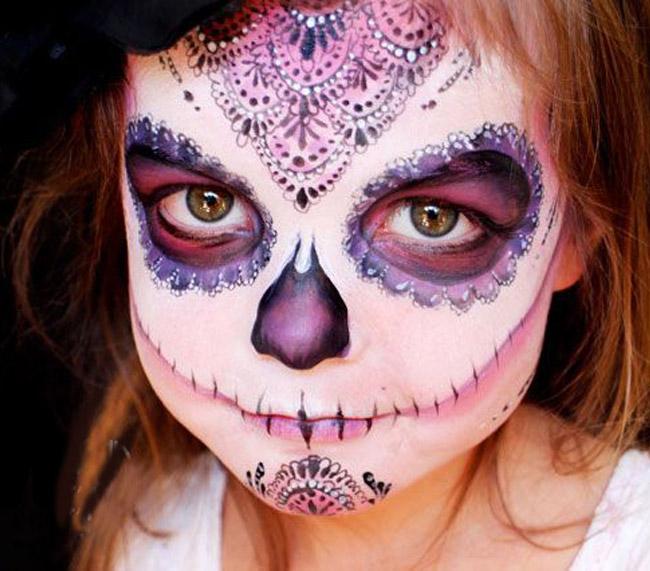 Increíble Maquillaje De Catrina Para Niñas Padres E Hijos