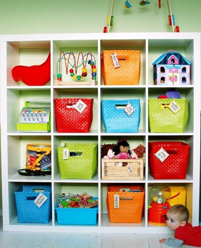 10 prácticos jugueteros para el cuarto de los niños - Padres e Hijos