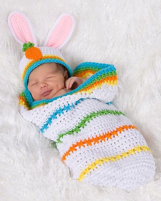 10 ideas de capullos tejidos en crochet para bebés - Padres e Hijos