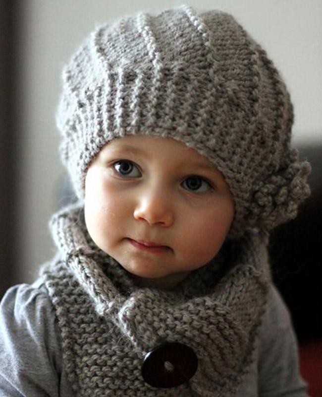 10 increíbles gorros tejidos para bebé - Padres e Hijos 01ff2275b00