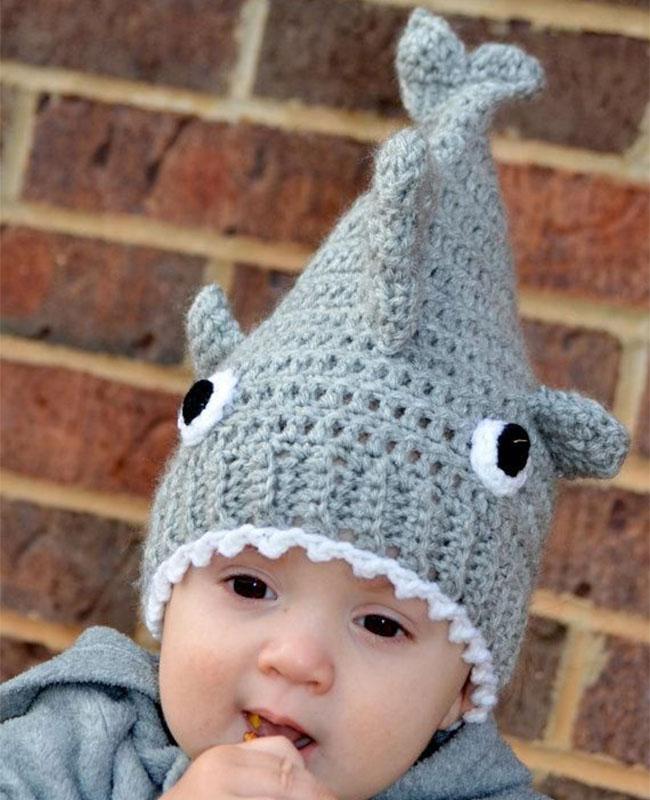 10 increíbles gorros tejidos para bebé - Padres e Hijos b00522c7a94