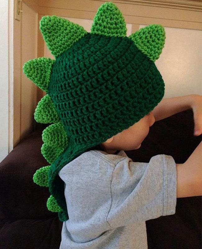 fe5f17b191d0 10 increíbles gorros tejidos para bebé - Padres e Hijos