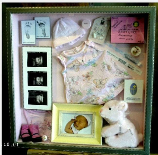 10 originales cuadros de recuerdos para tu beb padres e - Cuadros originales para bebes ...