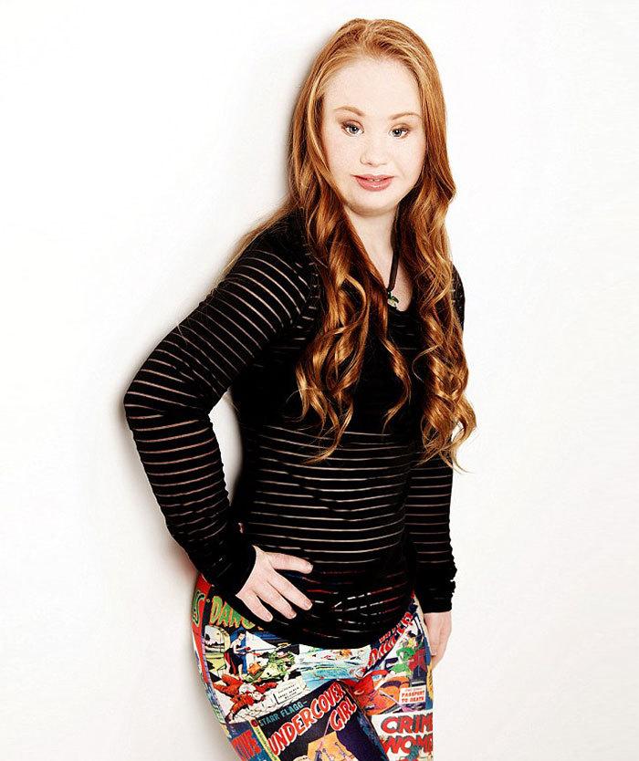 Madeline Stuart modelo con sindrome de down modelos