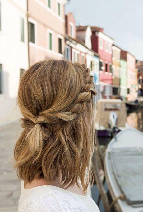 Peinados Con Trenzas Para Pelo Corto Tu En Línea