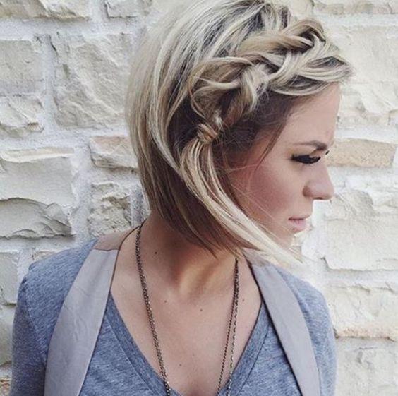 Peinados Con Trenzas Para Pelo Corto Para Ninas