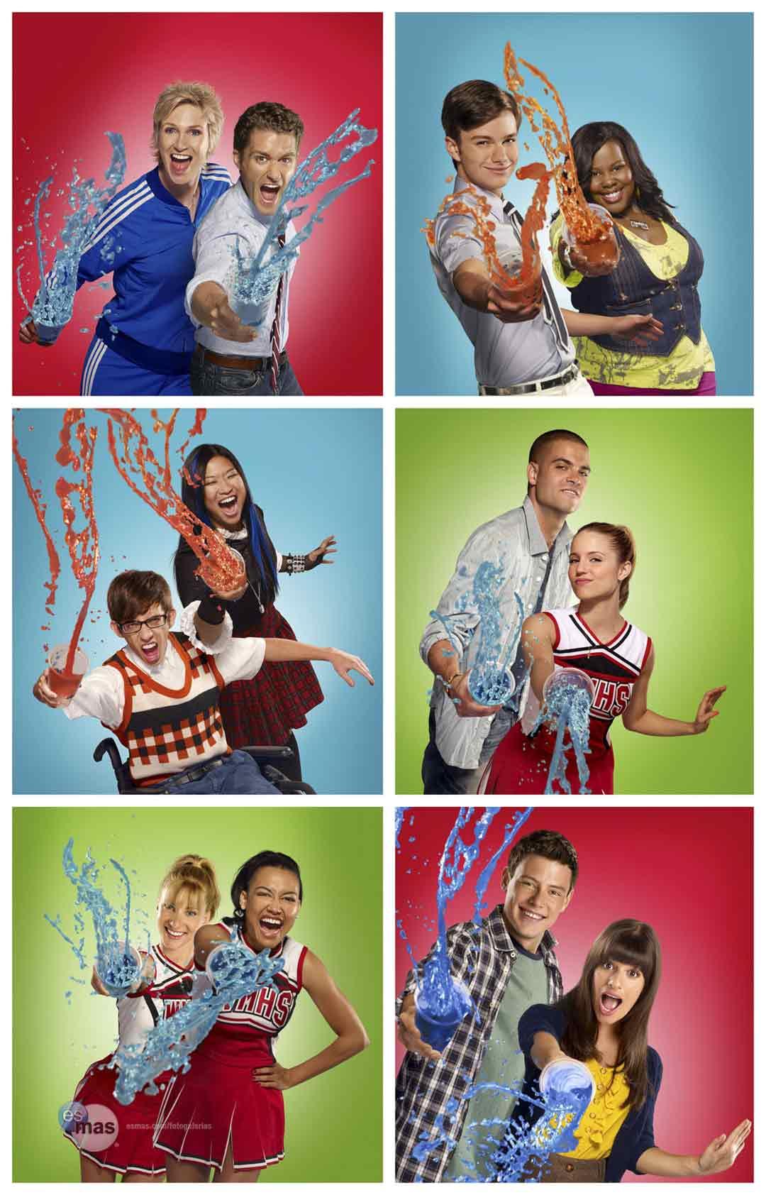 El elenco completo de Glee estará en la cuarta temporada ...