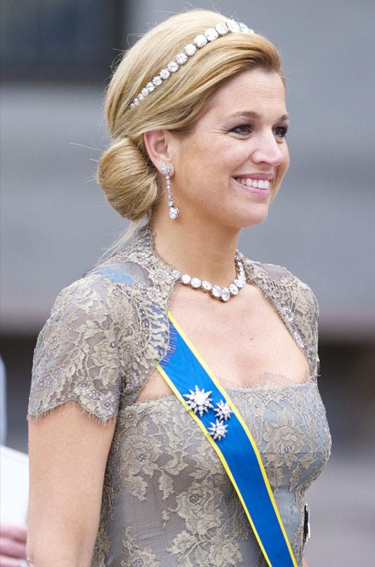 Máxima de Holanda (Joyas de la realeza)