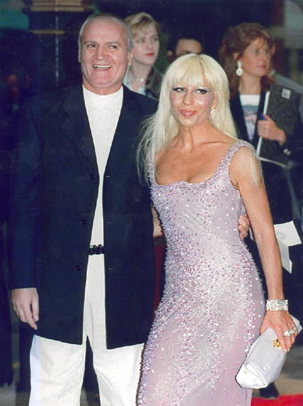 Gianni y Donatella Versace. (Foto: Getty Images)