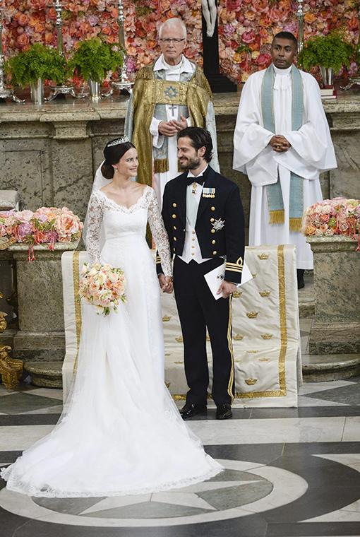 el vestido de novia de sofia hellqvist - vanidades