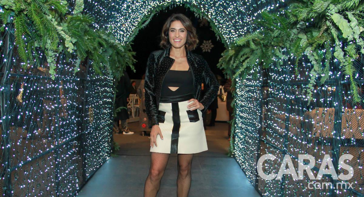 Francoise Y Sienna En El Encendido Del Arbol De Navidad Del Palacio