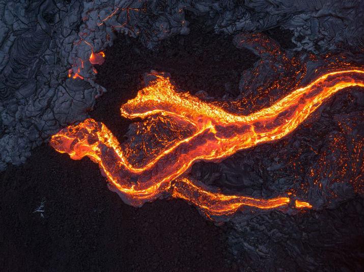 Fotografías Impresionantes De La Naturaleza Del Fotógrafo: Fotografías Impresionantes De La Lava Del Volcán Kilauea