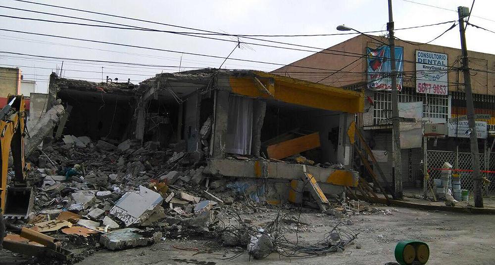 fotos de terremotos sismos temblores estragos casas derrumbadas