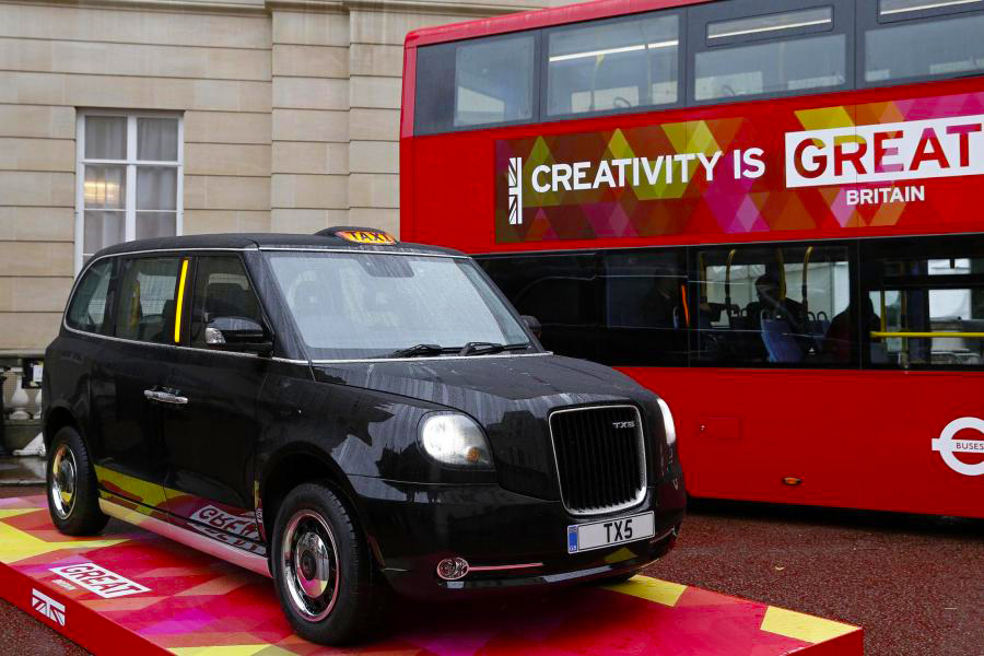Londres taxis negros