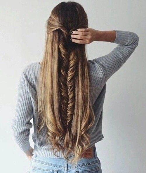 15 Peinados Que Debes Intentar Si Tienes Pelo Largo Tu En Linea