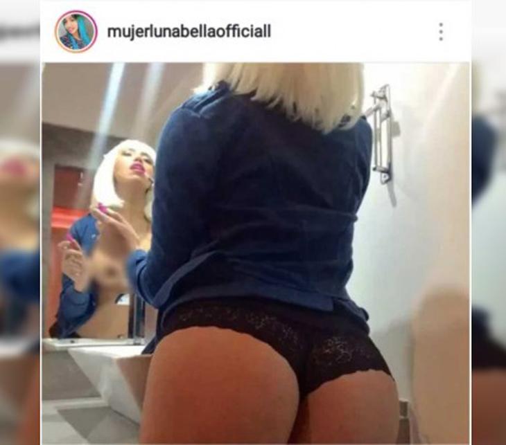 Mujer Luna Bella Se Desnuda En Redes Sociales Tvynovelas México