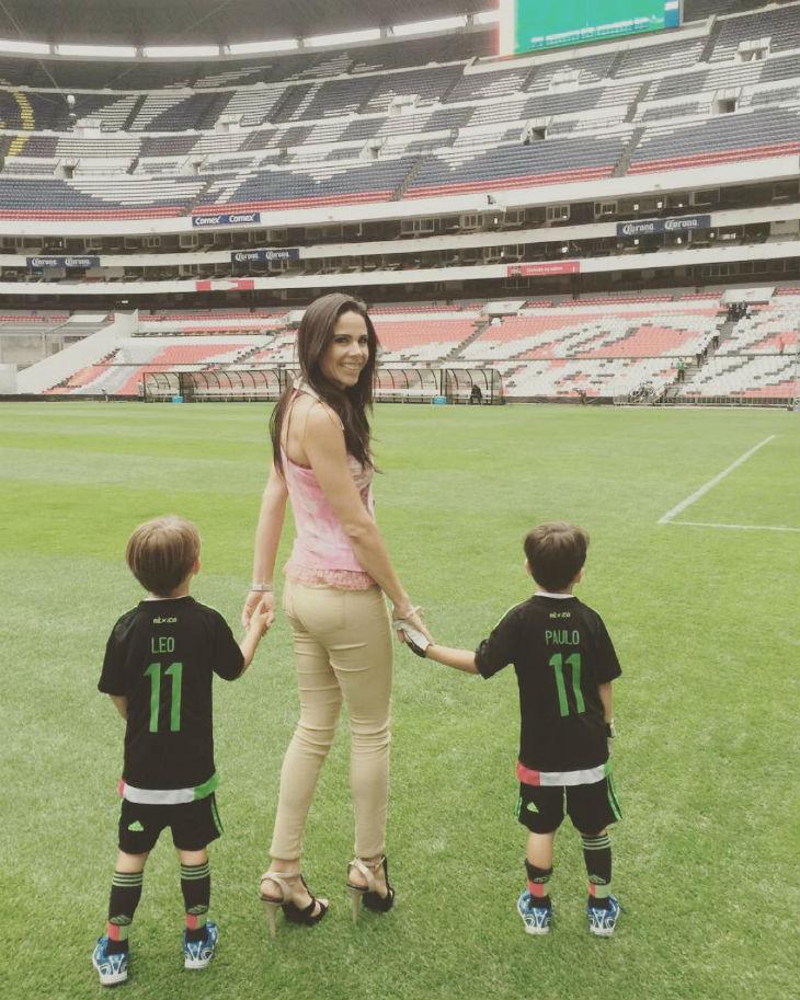 Asi Han Crecido Los Hijos De Zague Y Paola Rojas Tvynovelas Mexico