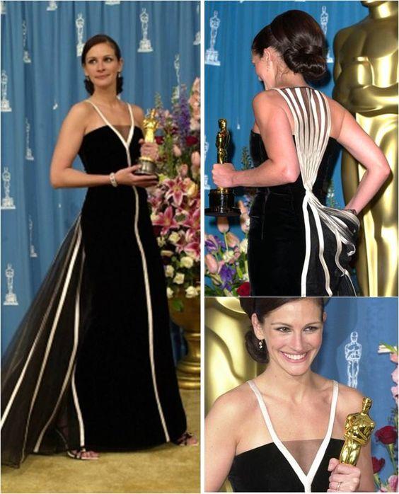 11b47c0f9 Julia Roberts le heredará a su hija el vestido más importante de su vida