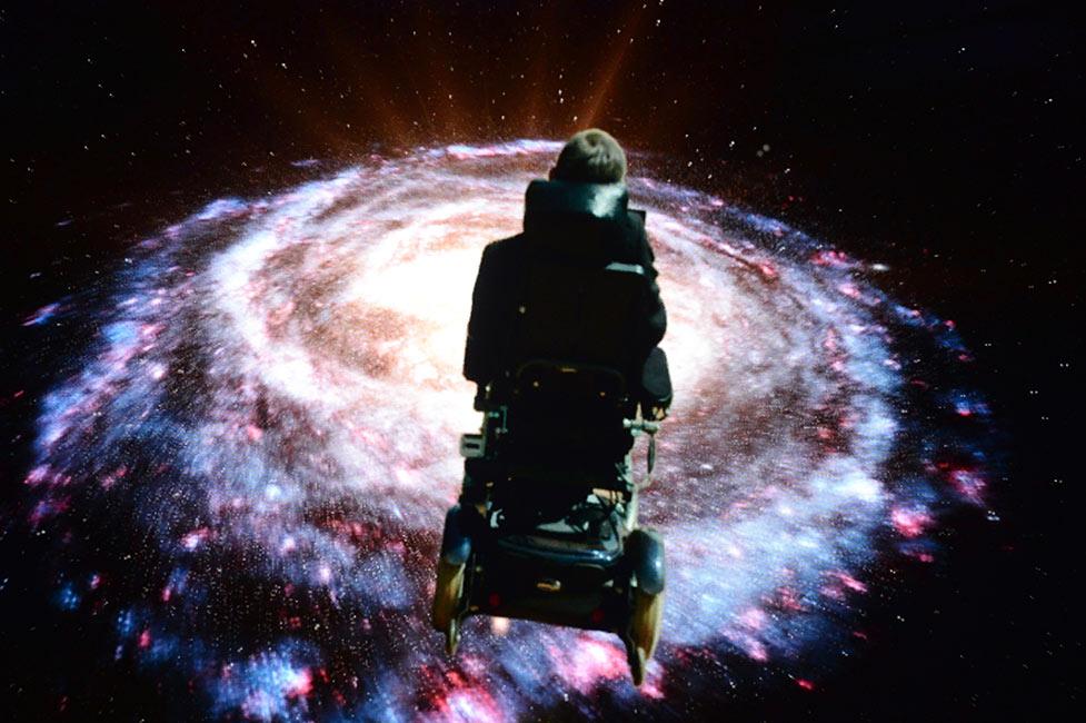 Eddie Redmayne rindió homenaje a Stephen Hawking - Vanidades