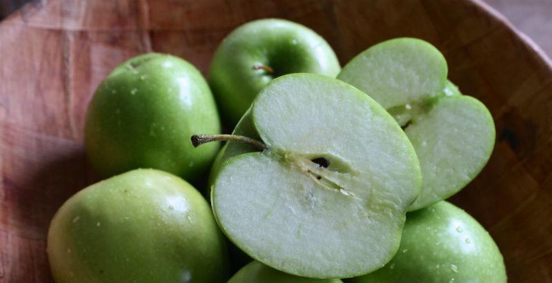 comer 2 manzanas al dia