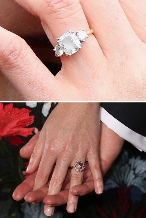 591fbe88f035 Meghan Markle y la princesa Eugenia tienen los anillos más deseados ...